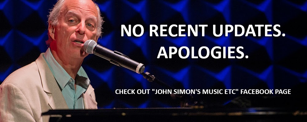 "Like and Follow ""John Simon's Music Etc"" on Facebook"